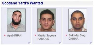 Scotland Yard's Wanted #3