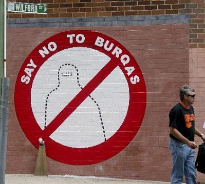 Burqa mural #1
