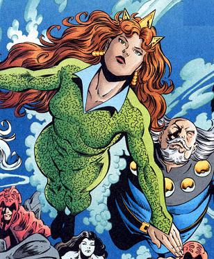 ... spectre during the infinite crisis mera became leader of the survivors