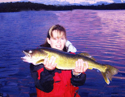 Irene with Walleye Sept 2009