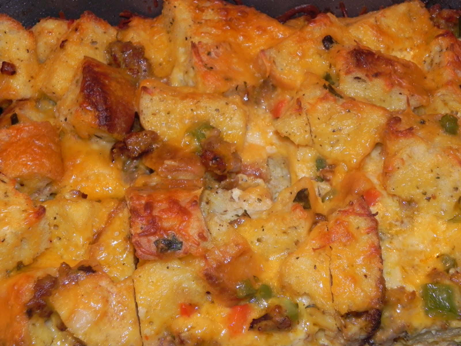 Farrah's Food Adventures: Christmas Morning Breakfast Casserole