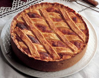Food & Culture: Italy: Ricotta Neapolitan Easter Pie