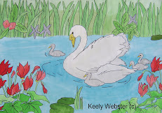Swan Family by KEELY WEBSTER