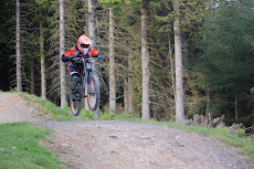 Andrea Webster Mountain biking