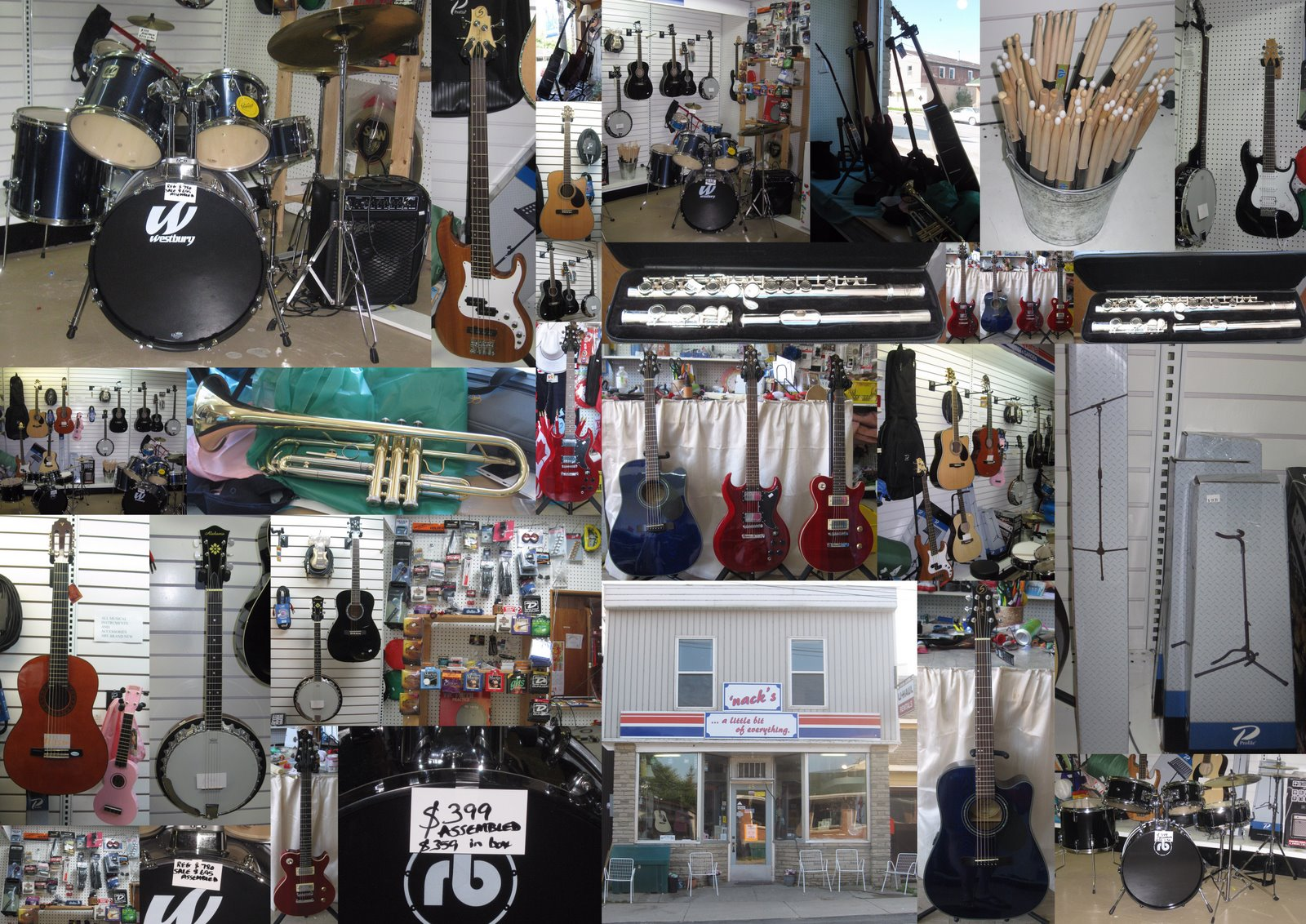 Manitoulin Musicians Nack S Store A Little Bit Of Everything