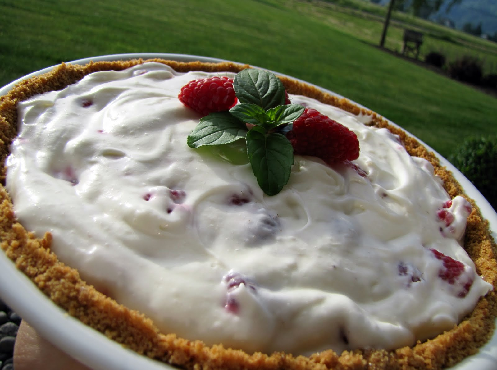 Mennonite Girls Can Cook: Raspberry Cream Pie
