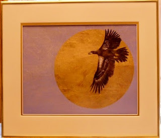 Salthaven bald eagle painting
