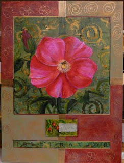 rugosa rose painting