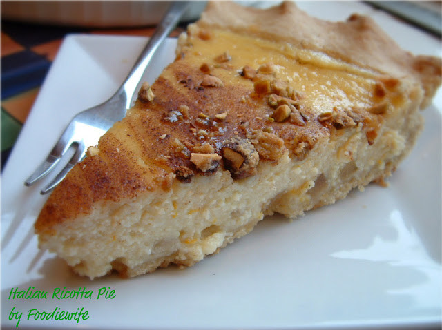 Italian Sweet Ricotta Pie with Candied Pistachios - Plus How to Make a ...