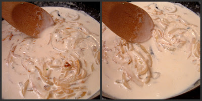 how to make blue cheese sauce without cream