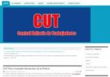 Página Web Oficial de la CUT Perú