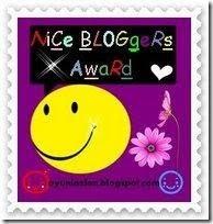 ~Nice Blogger Award~