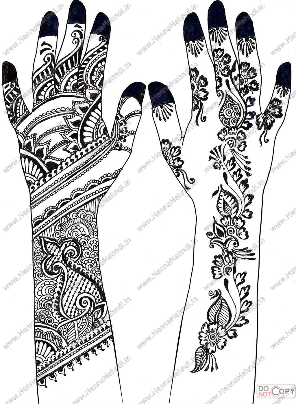 Mehndi Designe Beauty Care