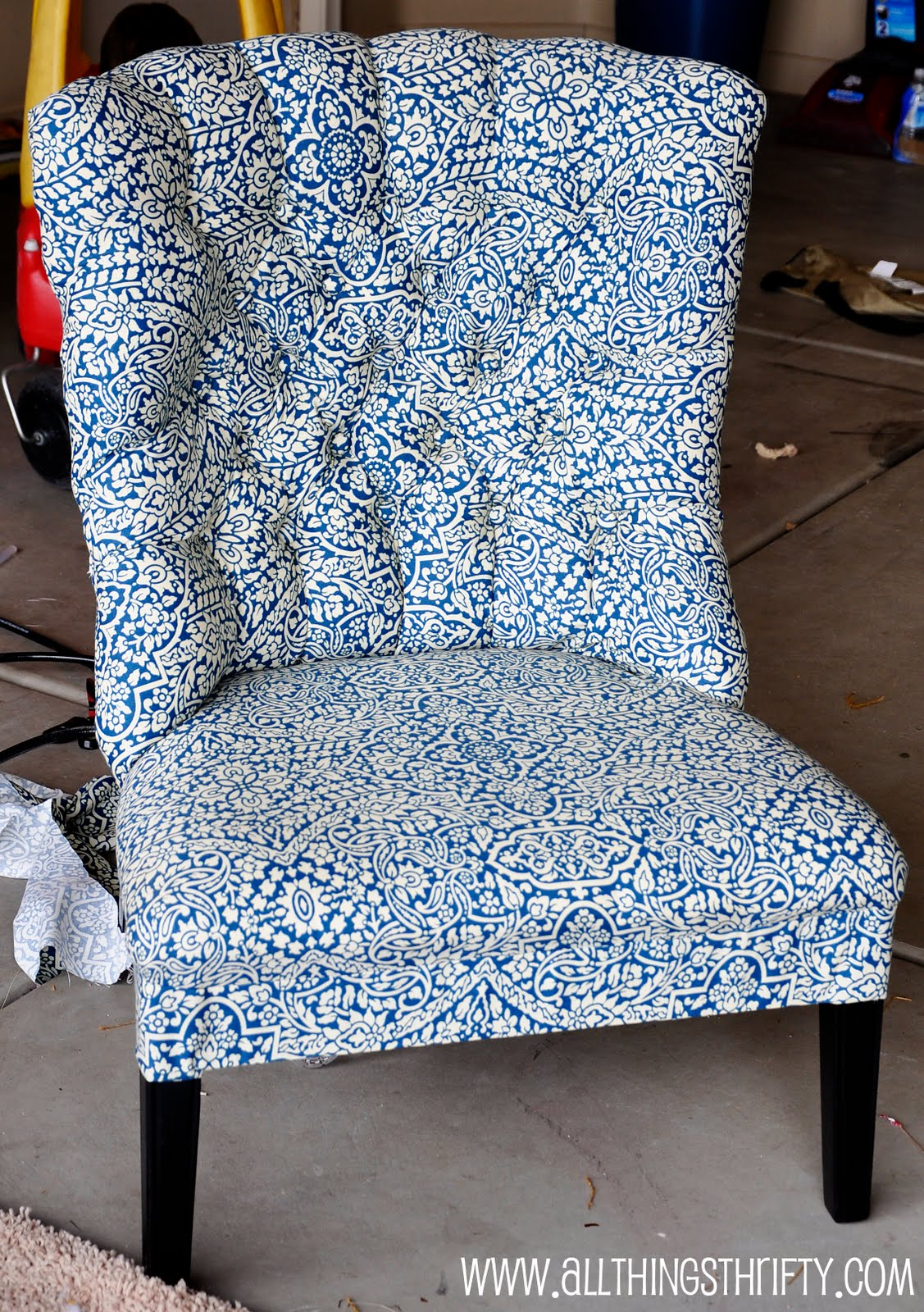 Wingback chair slipcover  Etsy