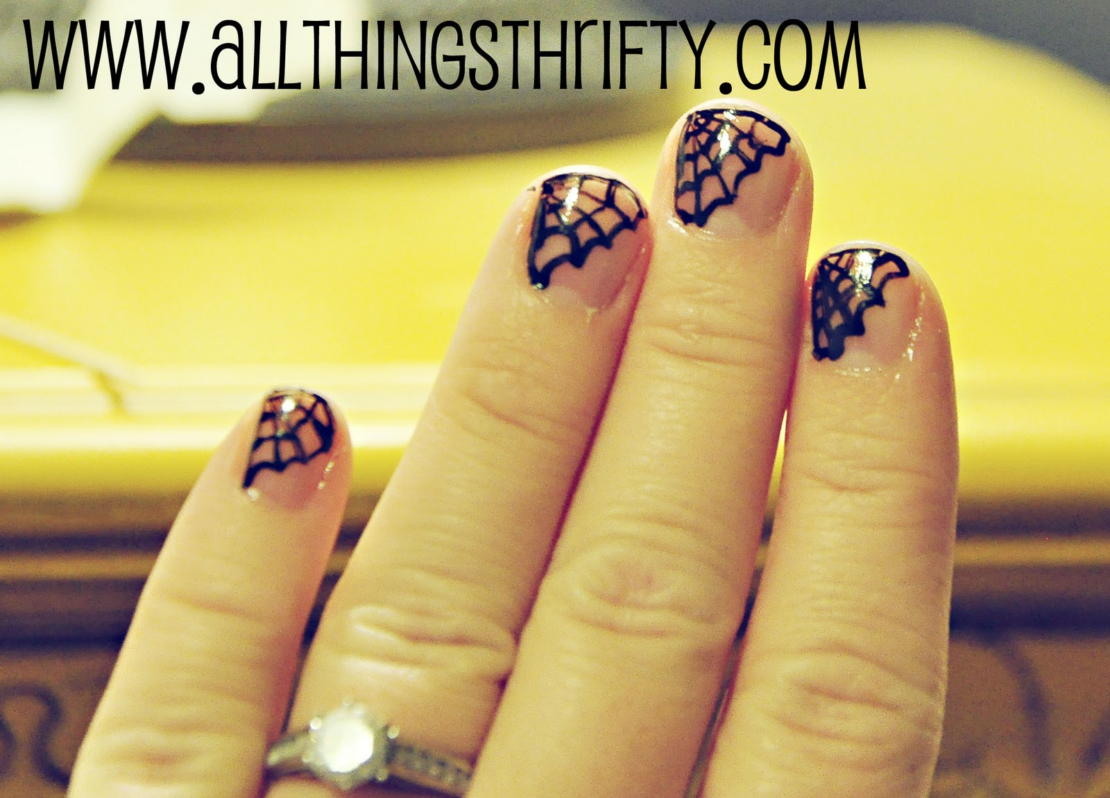 Halloween Nail Designs, All Things Girlie! | All Things Thrifty