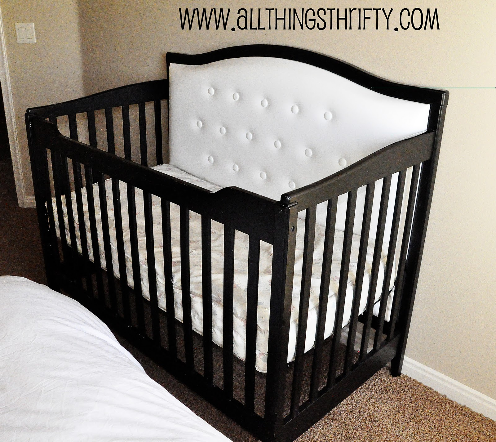 Nursery Decorating Ideas Part 3 Change your Crib for CHEAP