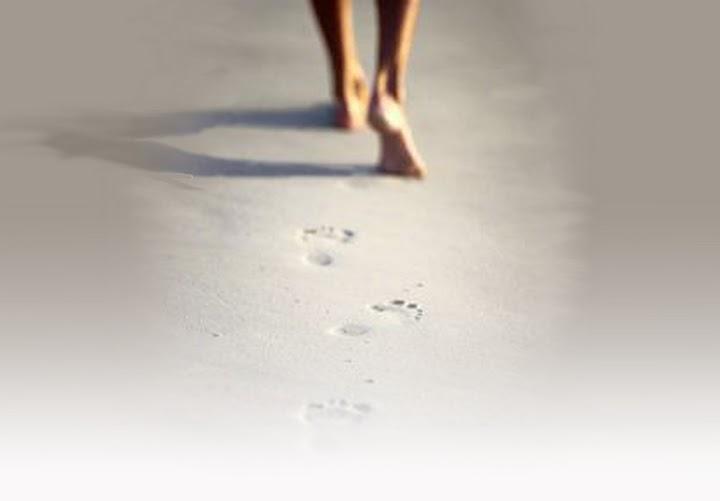 L'Arte dei piccoli passi Passi+sulla+sabbia+sfum