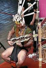 Dayak Musician