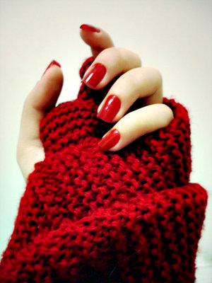 red+nails Holyday Manicure