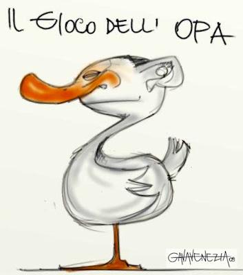 Opa Berlusconi Gava satira vignette