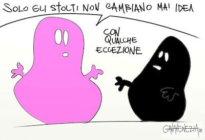 Barbapapa Berlusconi Gava satira vignette