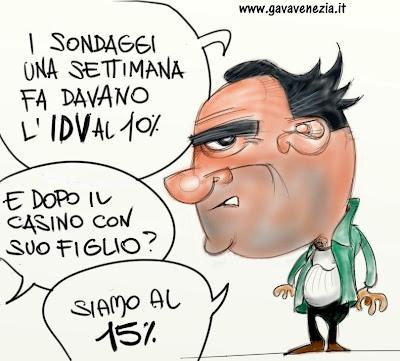 10% Di Pietro Gava satira vignette