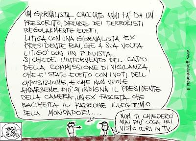 Santoro Gava satira vignette