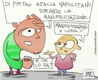 manifestazione informazione roma Gava satira gavavenezia gavavenezia.it
