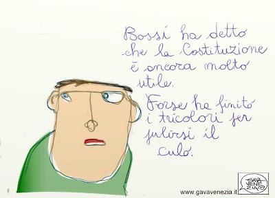 Tricolore Gava satira vignette