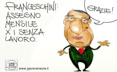 Veltroni Gava satira vignette