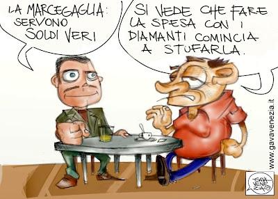 diamanti Gava satira vignette gavavenezia gavavenezia.it