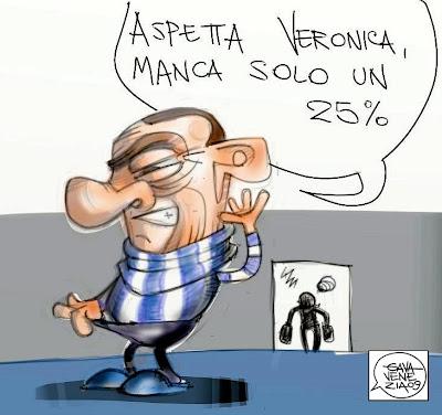 Berlusconi Gava satira vignette