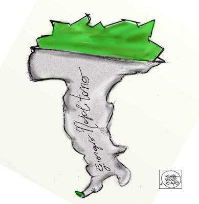 Gava Satira Vignette Napolitano