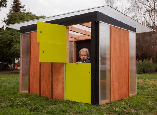 Modern mini houses for Children s garden sheds