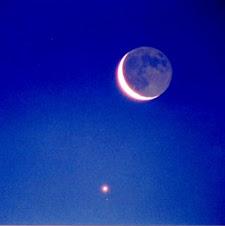 Moon + Venus
