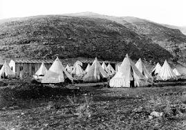 Oboz uchodzcow zydowskich w Palestynie