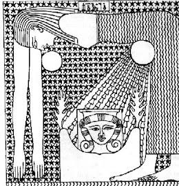 Egipska boginii Nut rodzaca slonce