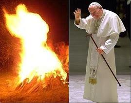 Jan Pawel II z ognista dusza