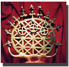 Sun disc with three crosses from Anatolia