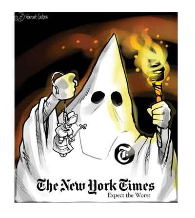 Karykatura z New Yor Timesa