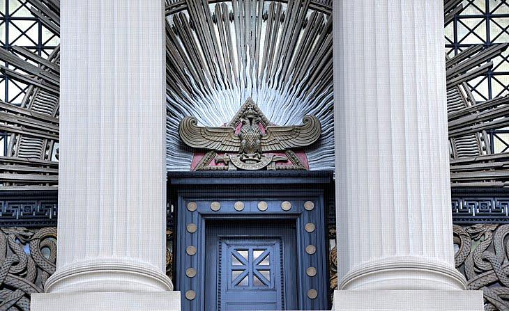 Masonska Swiatynia (House of the Temple) w Waszyngtonie