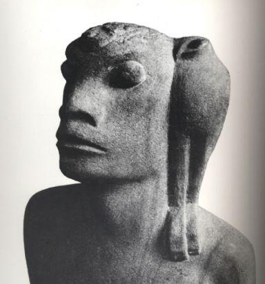 "Nimrod, an ape-man,  or ""missing link"""