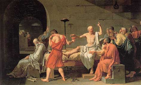 Socrates Lecturing on Hereafter
