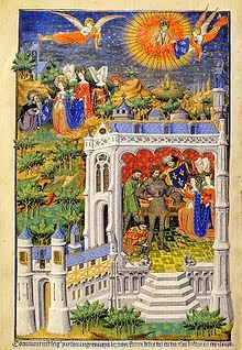 Clovis Receives Fleur-de-Lys from the sun god