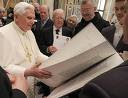 Benedict XVI with the Bible