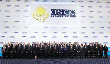 Spotkanie OSCE w Astanie, nowej stolicy Kazachstanu