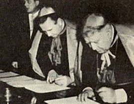 Wegierscy biskupi podpisuja uklad z komunistami