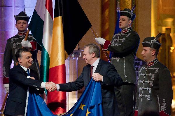 Premier Wegier przejmuje prezydenture EU 6 stycznia 2011 r.