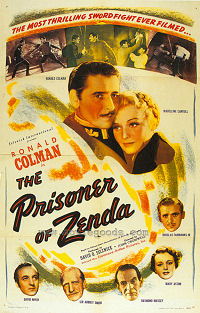 The Prisoner of Zenda (1952) Poster