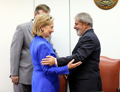 Hillary Clinton in Brazil